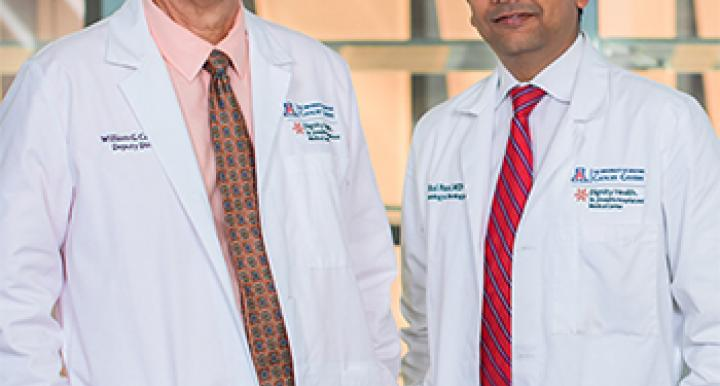 William Cance, M.D., and Mital Patel, M.D. (Photo: Sun Czar Belous, UA College of Medicine – Phoenix.)